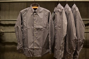 INDIVIDUALIZED SHIRTS ギンガムチェックBDシャツ
