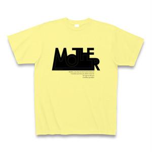 ジョンレノン MOTHER(マザー)ロゴマーク風TシャツB
