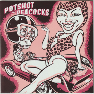 Peacocks // Potshot / split [EP/Used/7inch]