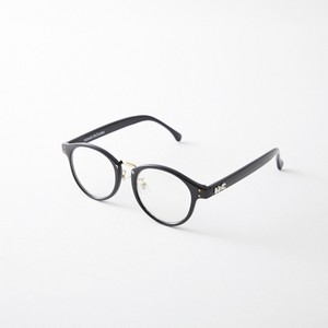 HONEY&CHRIS RE:SOL GLASSES(BLACK/CLEAR)