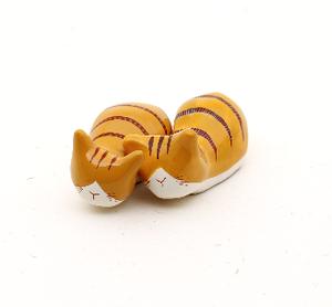 ネコオキ|ちゃめねこ(茶白/茶トラ)【現品販売・予約受付中】