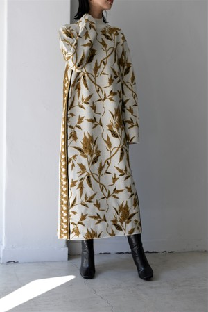 EBONY / Flower Knit Dress
