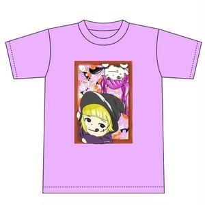 【サイン入り】Apiche Halloween Tシャツ【ライトパープル】