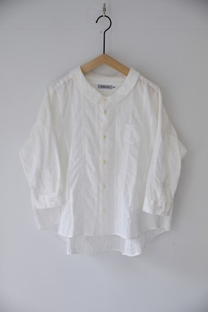 【ordinary fits】OL-S067 CHECK/STRIPE BARBER SHIRTS OFF