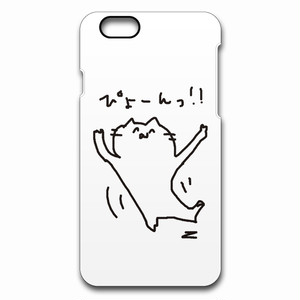 minario / にゃんつー・ぴょーん! iPhone CASE WHITE