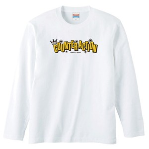 KLUB COUNTER ACITON OFFICIAL LONG SLEEVE : 2(ホワイトボディー)