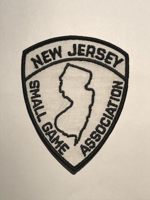 "Patch""NEW JERSEY SMALL GAME ASSOCIATION"""