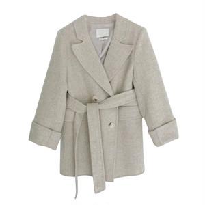 ショートジャケットコート L00328