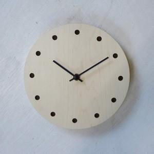 まんまる時計/メープル