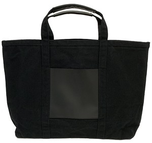 RE.ACT Canvas Tote Bag Black