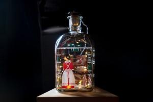 Holmegaard ホルムガード クリスマスボトル 1992年