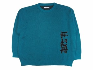 """FLA"" COTTON KNIT SAX 18AW-FS-23"