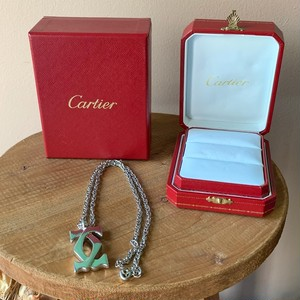 Cartier シルバー ネックレス