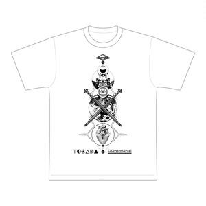 【緊急新発売!】DOMMUNE×TOCANA 宇川直宏デザイン・コラボTシャツ(ブラック/ホワイト )
