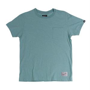 スラブ天竺無地ポケ付きTシャツ:ミントグリーン