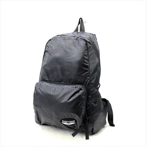 HARVEST LABEL 「NEO PARATROOPER」 PACKABLE BACKPACK <BLACK>