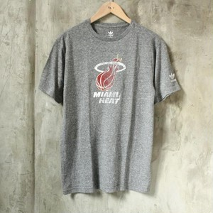 adidas (アディダス) NBA Tri-Blend Tee 【Miami Heat】