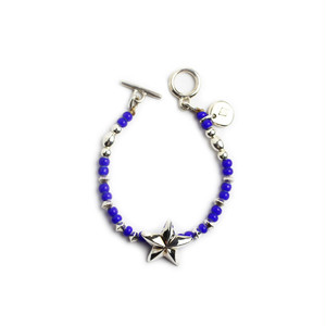 CONSIGLIERE/コンシリエーレ Lucky star beads bracelet/Blue-B