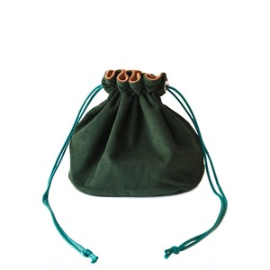 Reversible Bag/Green&Brown