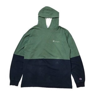 """"""" Champion """" Hoodie L/S Cut sew (Made in USA)"""