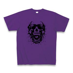 Mono Skull Tee Purple