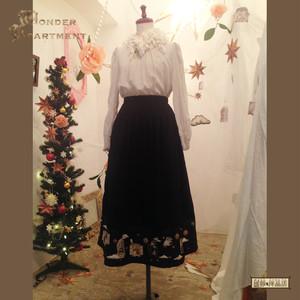 【再入荷】不思議の窓辺スカート