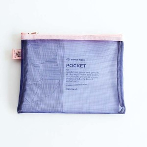 The Pockets(POCH2INDIGO)・メッシュポーチ