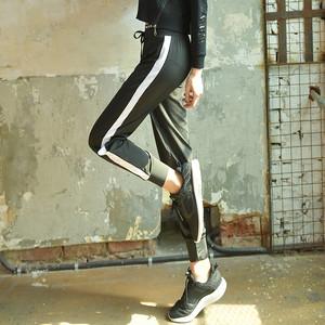 【フィットネスウェア】スポーツ系ルーズ美腿効果抜群カジュアルロングパンツ21653212