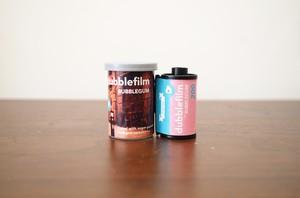 【 35mm カラーネガ 】dubble film( ダブルフィルム )BUBBLEGUM 36枚撮り