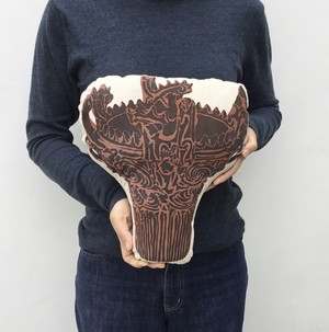 土偶のクッション/火焔型土器