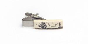 ボートスケッチ ネクタイピン Sail Sketch Tie Bar