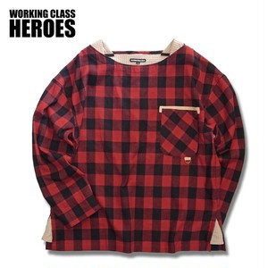 WCH Buffalo Plaid Busted Shirt -Red