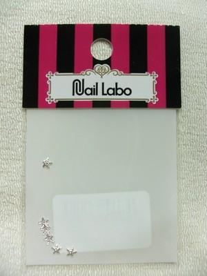 Nail Labo メタルパーツ シースター(ヒトデ) 3㎜ シルバー