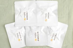 蓮月庭厳選茶葉 お試し5品セット(1)