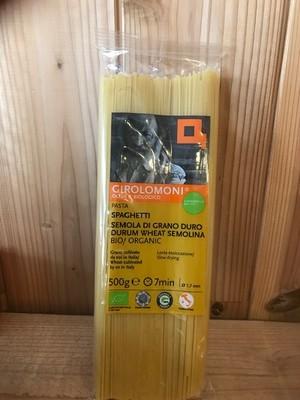 創健社 ジロロモーニデュラム小麦有機スパゲティ 500g