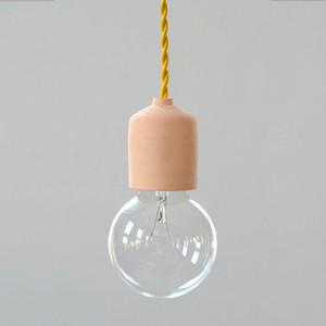 Socket Lamp Terracotta|素焼き