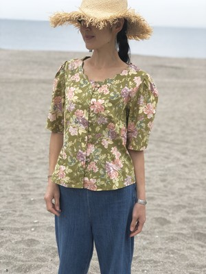 blouse / floral