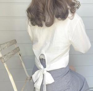 back ribbon shirts