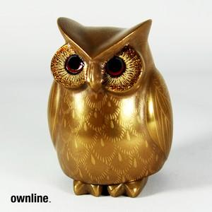 ownline™ 伝統工芸輪島塗 - 梟 -