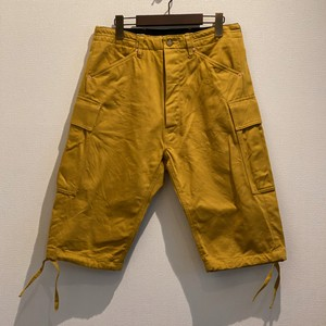 CARGO CAPRI PANTS <KATSURAGI> (YELLOW) / GERUGA