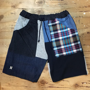 HR.REMAKE MIX PTW KIDS SHORTS