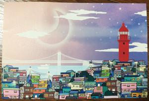 韓国釜山のマチュピチュ「甘川芸術村」のポストカードを送ります!