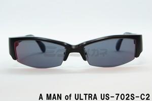 【正規取扱店】A MAN of ULTRA×BLACK ICE US-702S-C2、ウルトラセブン、サングラス、円谷プロ、ウルトラマン、メガネ、フレーム、アイスラッガー、コラボ、変身、限定商品