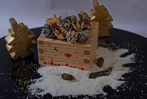 テーブルに飾る一味違った和のメリークリス枡