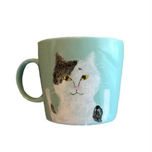 NEKO MUG 白黒ネコ