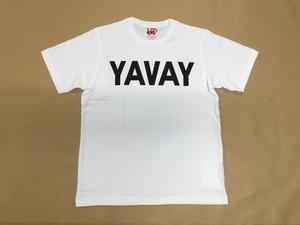 """YAVAY""""横書"""" Tシャツ(UTコラボ)"""
