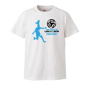 No.2018-001 コーギーワールドカップTシャツ 前プリント