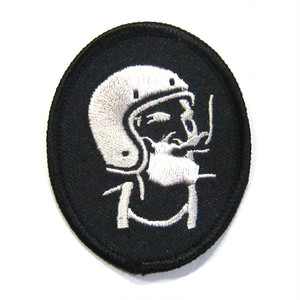 V.N.M. ROLL UP patch, blk-blk