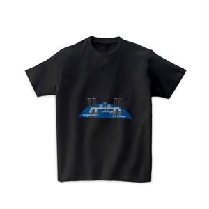 宇宙Tシャツ-国際宇宙ステーション