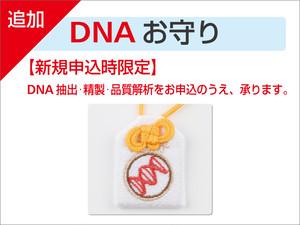新規申込時限定 追加DNAお守り(1つ)